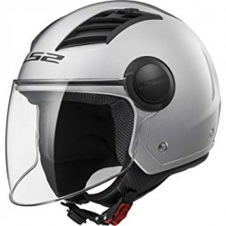 CASCO LS2 OF562 AIRFLOW NEW GLOSS SILVER