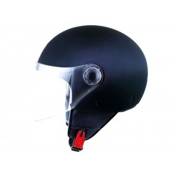 CASCO MT STREET METRO, HELMET MATT RUBBER BLACK