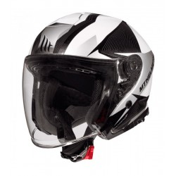 CASCO MT THUNDER 3 SV JET WING GLOSS PEARL GREY