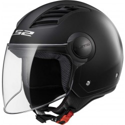 CASCO LS2 OF5262 AIRFLOR NEW MATT BLACK LONG