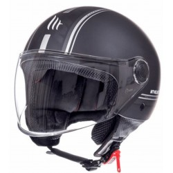 CASCO MT STREET METRO, HELMET ENTIRE C9 MATT BLACK