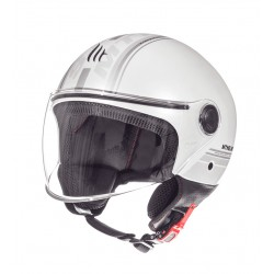 CASCO MT STREET METRO, HELMET ENTIRE E6 GLOSS PEARL