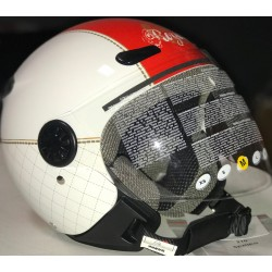 CASCO ZEUS HELMET BLANCO DD49 RED
